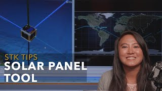 STK Tip: Using the Solar Panel Tool