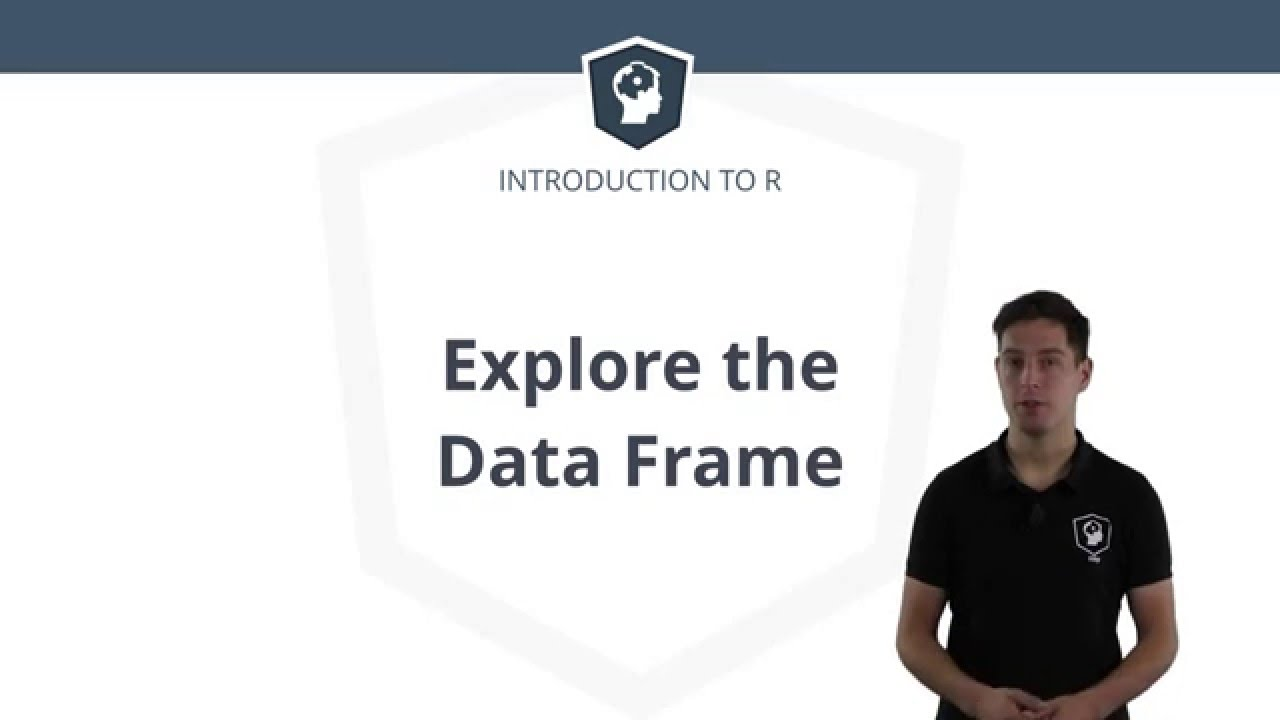 R Tutorial - Using the Data Frame in R
