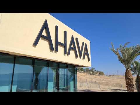 AHAVA Dead Sea, Israel Today. November 18, 2020.