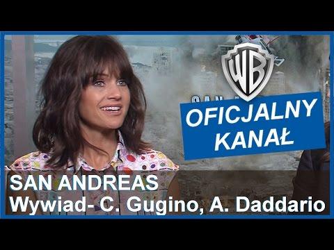 """""""San Andreas"""": Wywiad z Carlą Gugino i Alexandrą Daddario"""