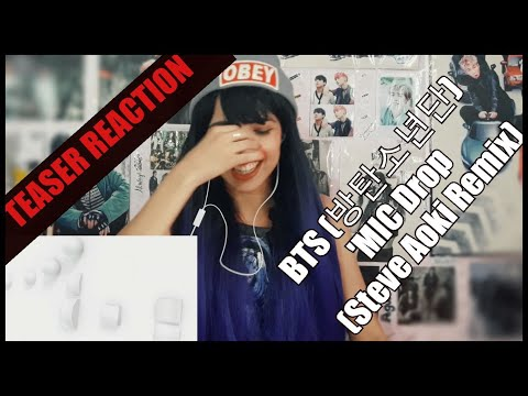 BTS (방탄소년단) 'MIC Drop (Steve Aoki Remix)' Official Teaser REACTION [PORT SUBS]