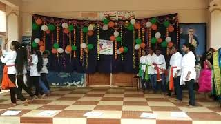 APSWRS nuzvid independence day celebration