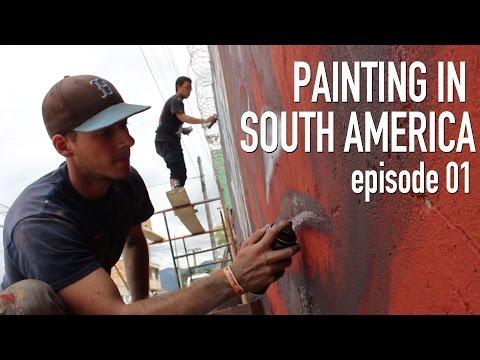 World Traveling Street Artist | STREET ART SOUTH AMERICA 01