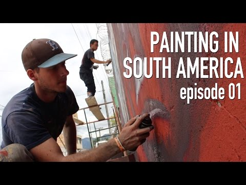 World Traveling Street Artist | STREET ART SOUTH AMERICA 01