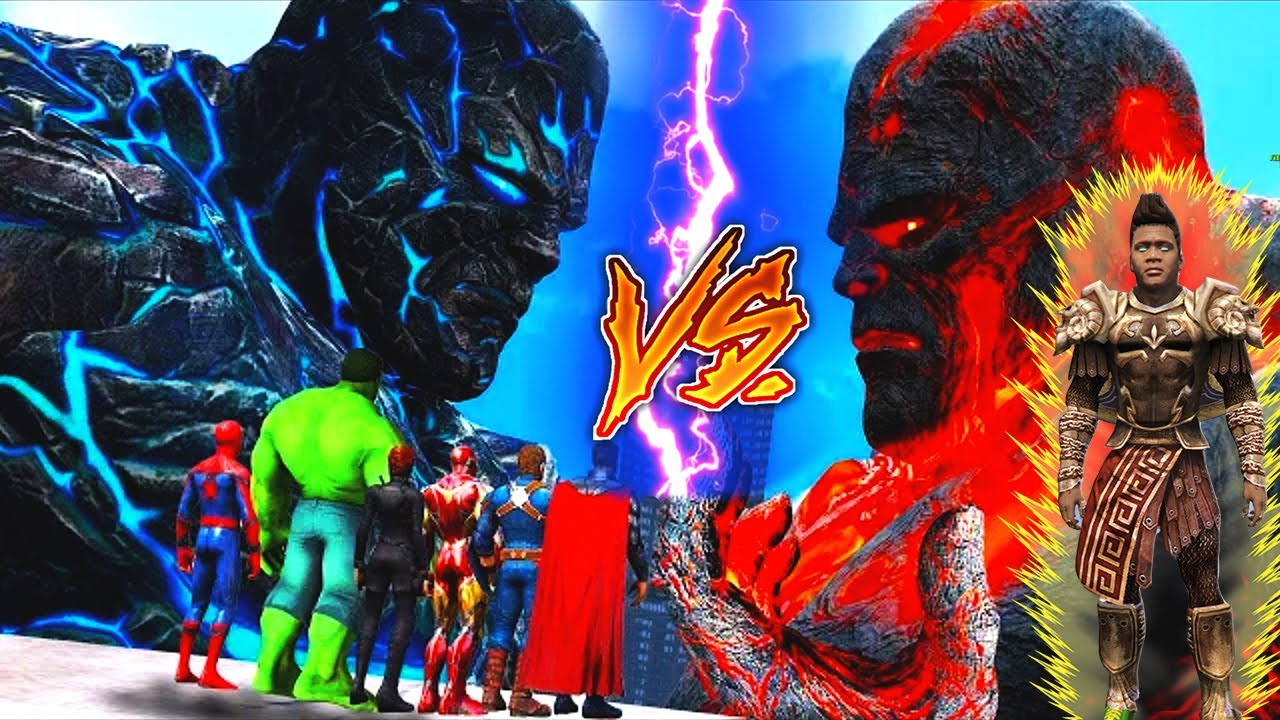GTA 5 : Goku & Vegeta Franklin Became God Fight Lava God [Hindi] | Last Part 7 (GTA 5 mods)
