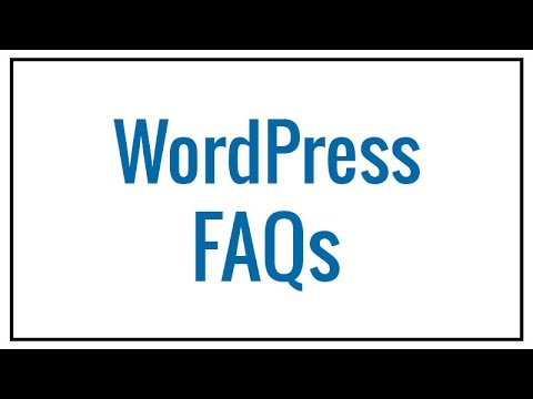 WordPress FAQs | Coalition Technologies