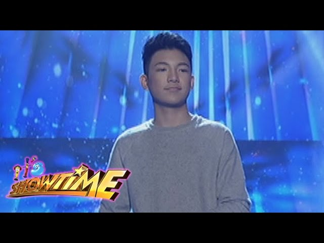 "It's Showtime: Darren Espanto sings ""Halo"""