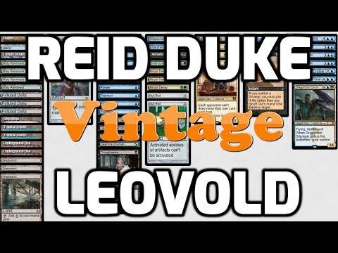 Channel Reid - Vintage Leovold (Deck Tech & Matches)