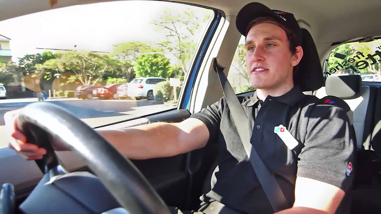 Meet Alex. A Day In the Life of a Domino's Delivery Driver - YouTube