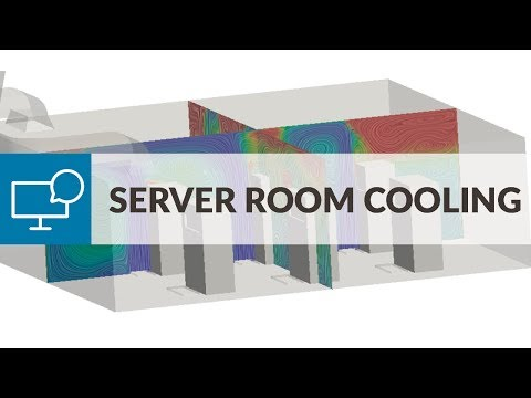 Validating Air-Conditioning Design for Server Room Cooling with CFD