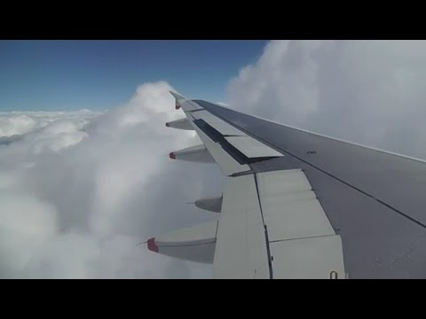 BA A319 Heavy turbulent Approach/landing in Hannover (Germany)