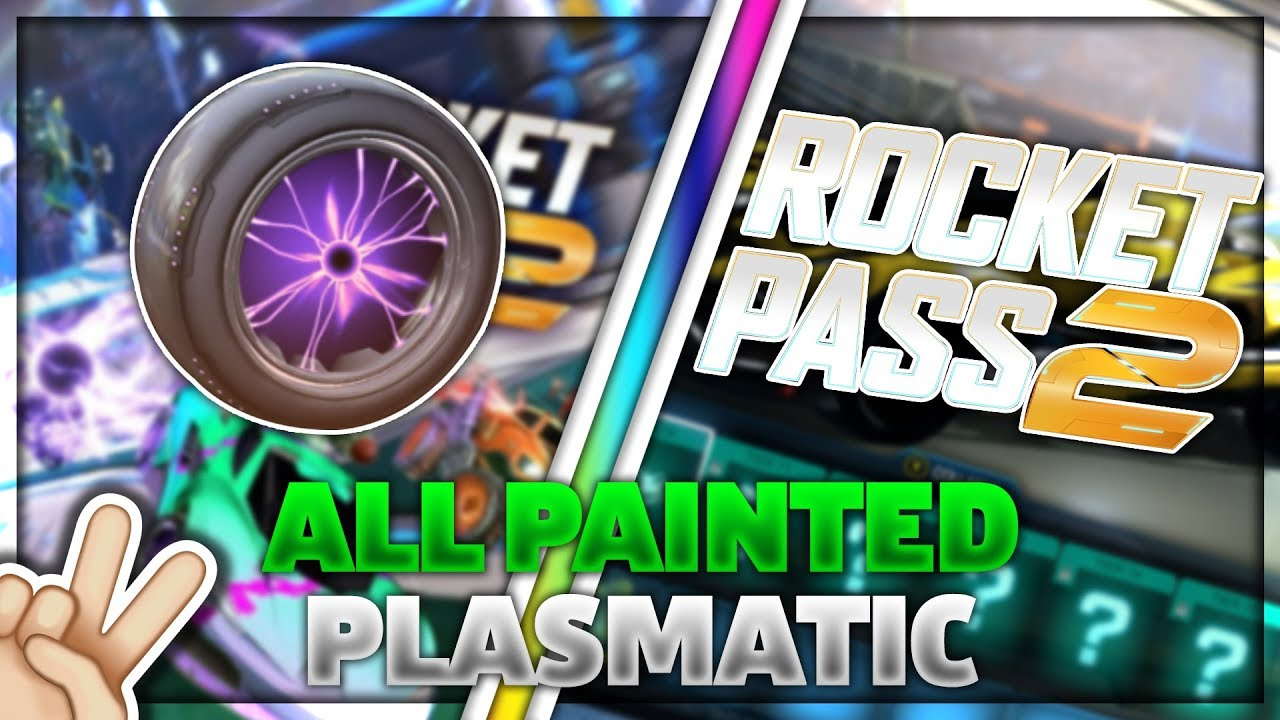 Every Painted Wheel In The Impact Crate Rocket League Centro Santa Fe Reaper Masato Youtube