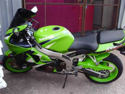Kawasaki Ninja Zx6r 1999 Youtube