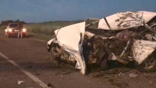 Обнародовано видео с места смертельной аварии в Воскресенском районе