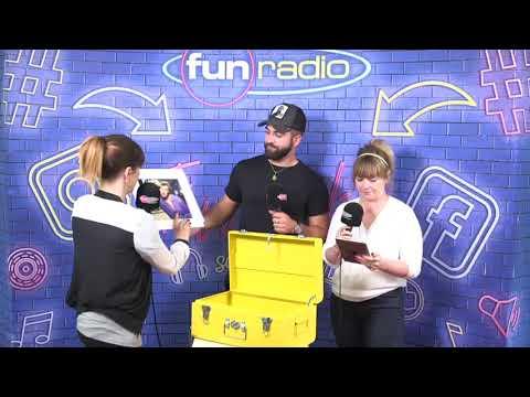 Kendji Girac  se livre sur Funradio