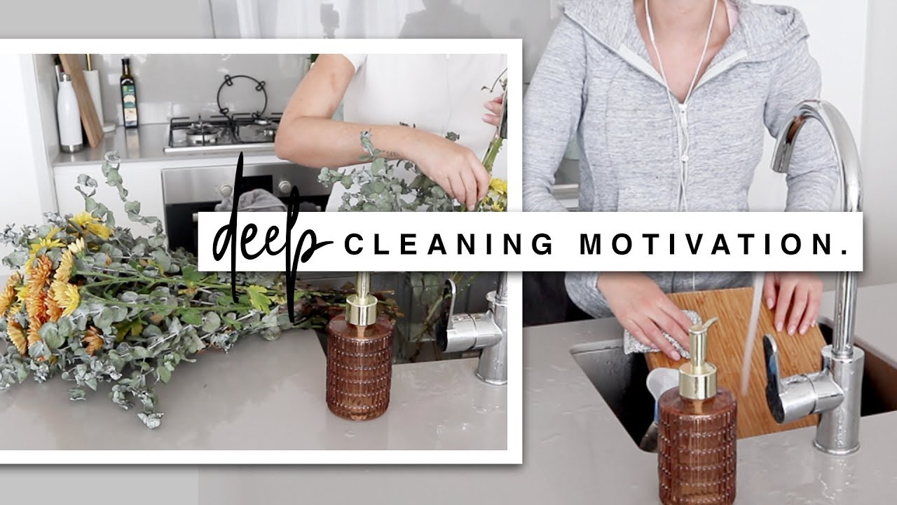 Whole House Clean With Me - DEEP CLEAN MOTIVATION & Extreme Cleaning Routine