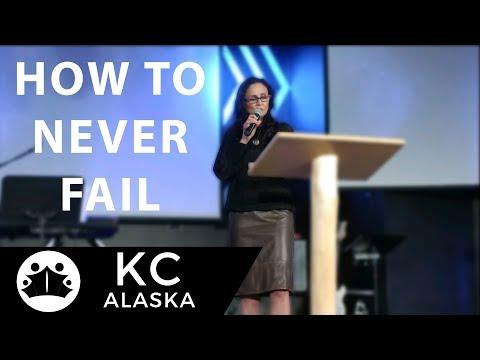 How To Never Fail  Pastor Sherry Morris