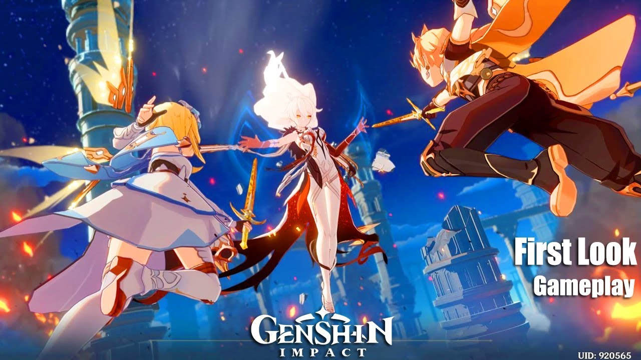 Genshin Impact - First Look Gameplay Max Settings - CBT2 - English - PC  Version 2020 - YouTube