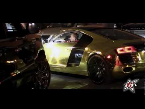 Tyga gets a Gold Audi R8 - Roadstarr TV Exclusive