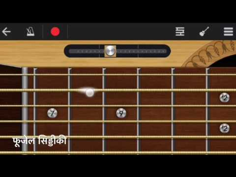 Tum Hi Ho Full Song Guitar Tabs on Walkband | Aashiqui2 Love theme | Arijit singh | Easy Guitar Song