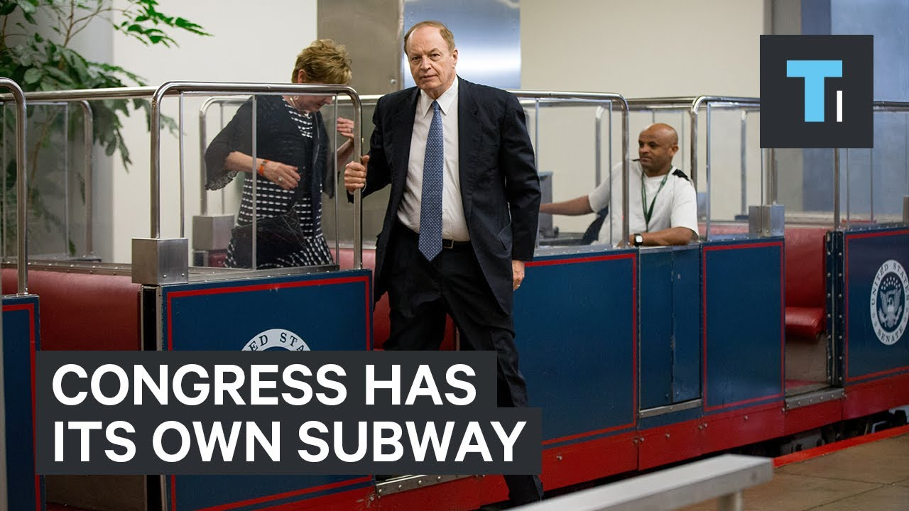 Congress has its own exclusive subway — here's what it's ...