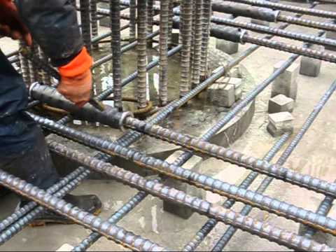 Grout Reinforcement Splice for Foundation, Basement of Bridge pile, slab Indonesia, Malaysia
