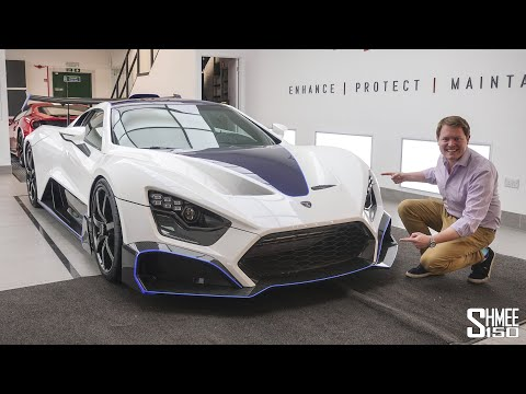 FIRST Full Look at the BRUTAL Zenvo TSR-S!