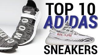 TOP 10 ADIDAS SNEAKERS OF 2017