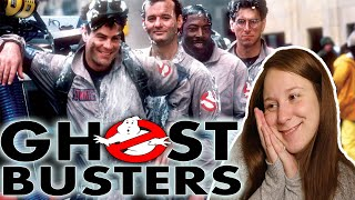 Ghostbusters 1984 * FIRST TIME WATCHING * reaction & commentary * Millennial Movie Monday