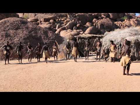 Damara people dance