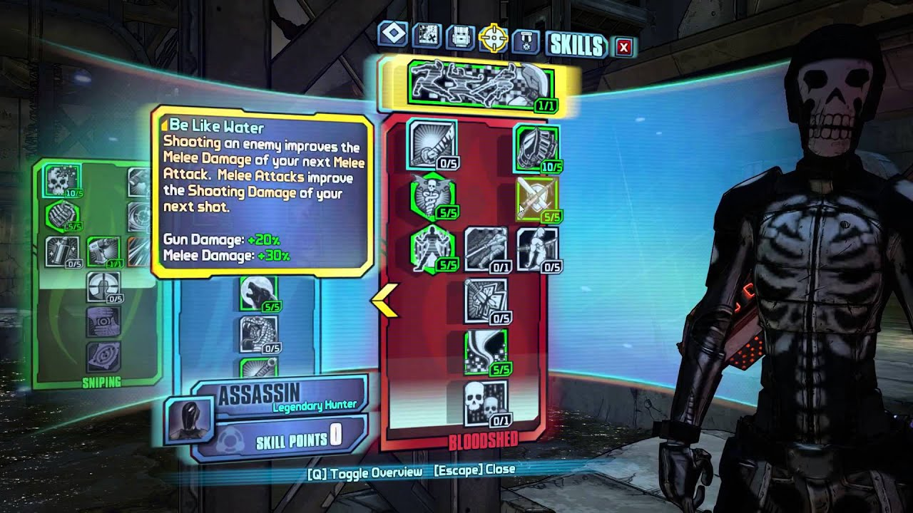 Borderlands Assassin Class Build – Wonderful Image Gallery