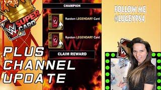 wwe supercard rewards plus channel update