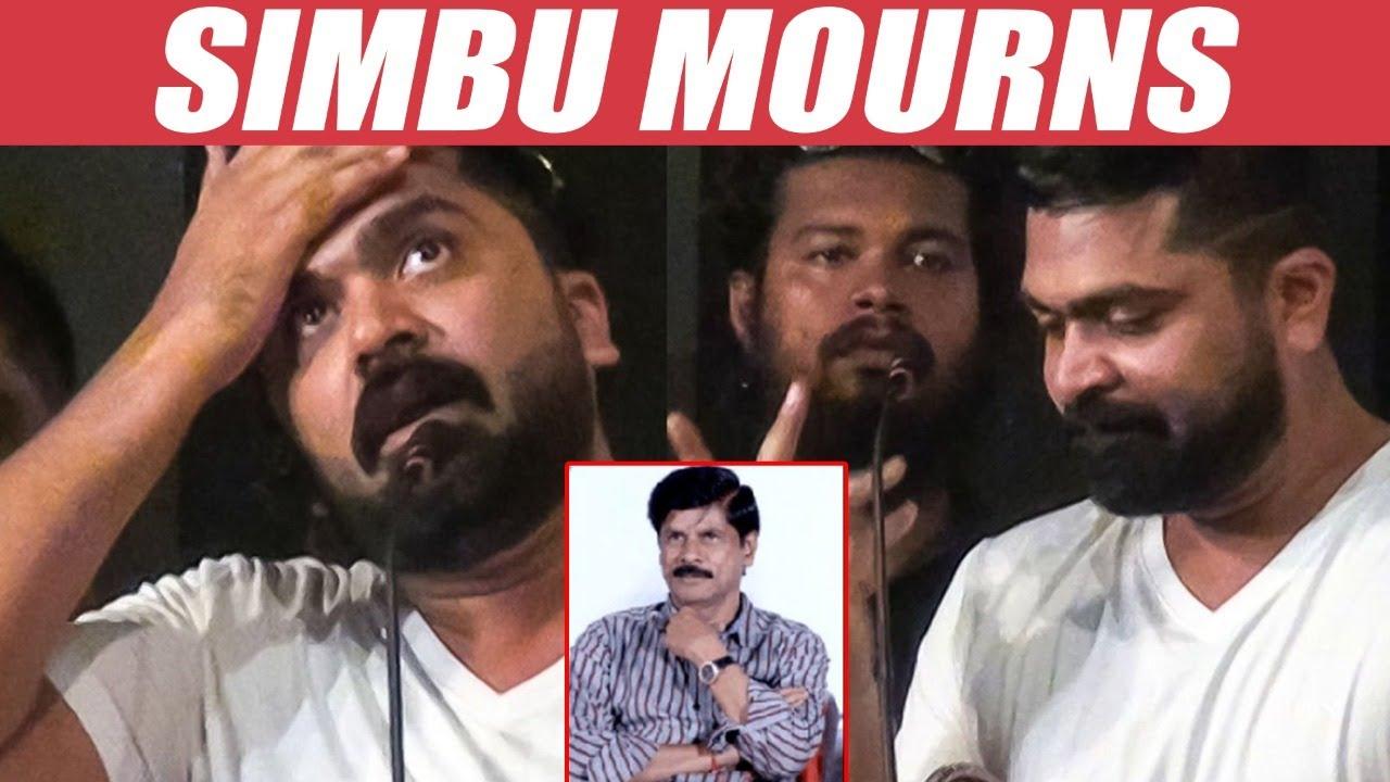 Simbu turns Emotional on Demise of his producer | Swaminathan | Silambattam