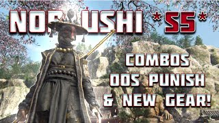 REBALANCED NOBUSHI GUIDE!  - ADVANCED COMBOS, STRATEGIES, PUNISHES & SEASON 5 GEAR!!