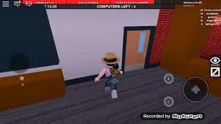 Ek bug camera that I couldn't record everything in Roblox Fle the Facylity beta