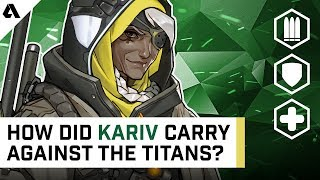 How Did Kariv Carry Against The Titans? | Behind The Akshon
