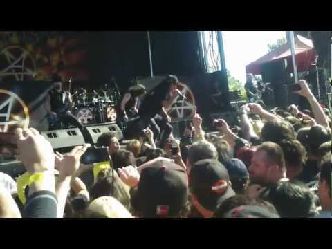 Rockstar Mayhem 7/1/12 - Anthrax - Got the Time @ Shoreline Mt View Q3HD