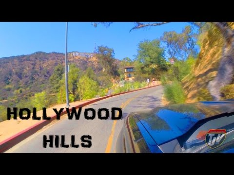 HOLLYWOOD HILLS RIDE ALONG
