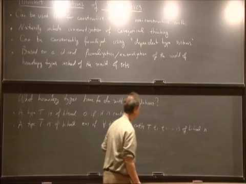 Univalent Foundations of Mathematics - Vladimir Voevodsky