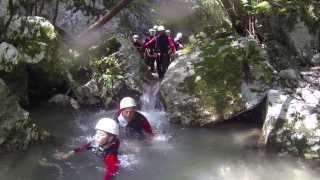Canyoning Gardasee Brentino Family Adventure - Canyoning in Italien mit Outdoorplanet!