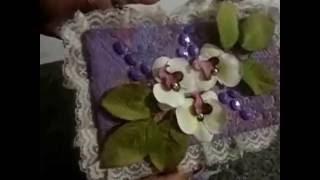 Porta joias feito com caixa de sabão