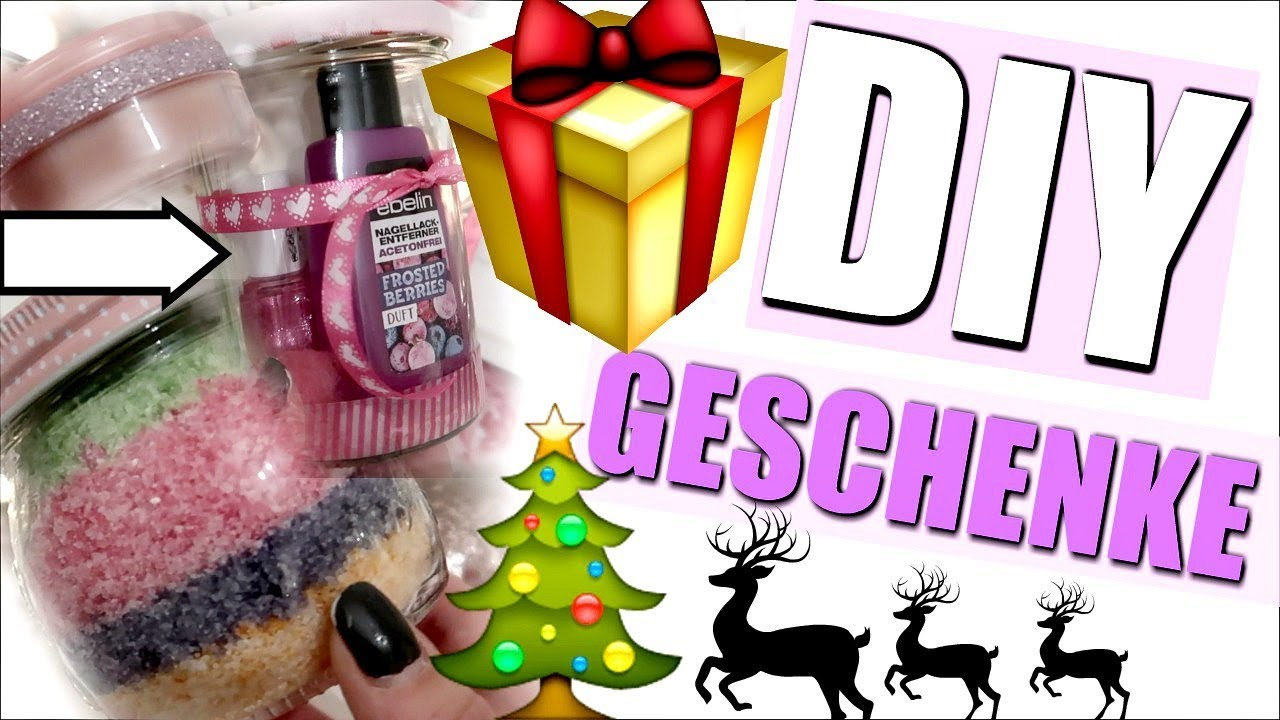 last minute weihnachtsgeschenke diy youtube. Black Bedroom Furniture Sets. Home Design Ideas