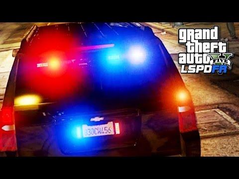 GTA 5 LSPDFR SP #80 - Desert Chase