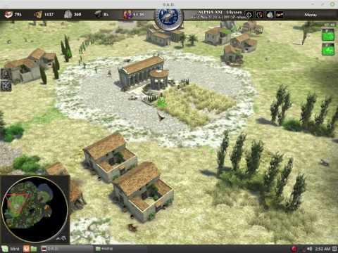 0 A.D. Alpha 21 - Athenians vs. Iberians