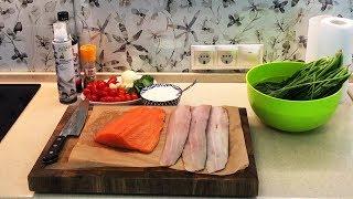Как приготовить лосось за 8 минут чтоб все обалдели!?