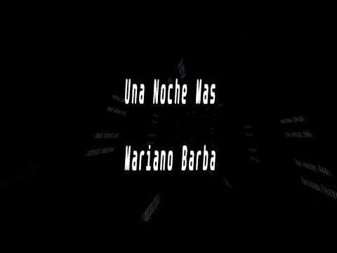 Karaoke-Una Noche Mas-Mariano Barba