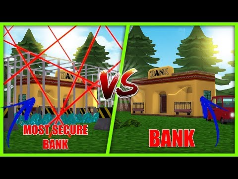 MOST SECURE BASE CHALLENGE - BANK VS BANK w/ Scuba Steve