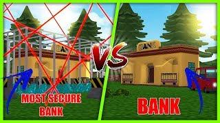 Most Secure Base Challenge Bank Vs Bank W/ Scuba Steve