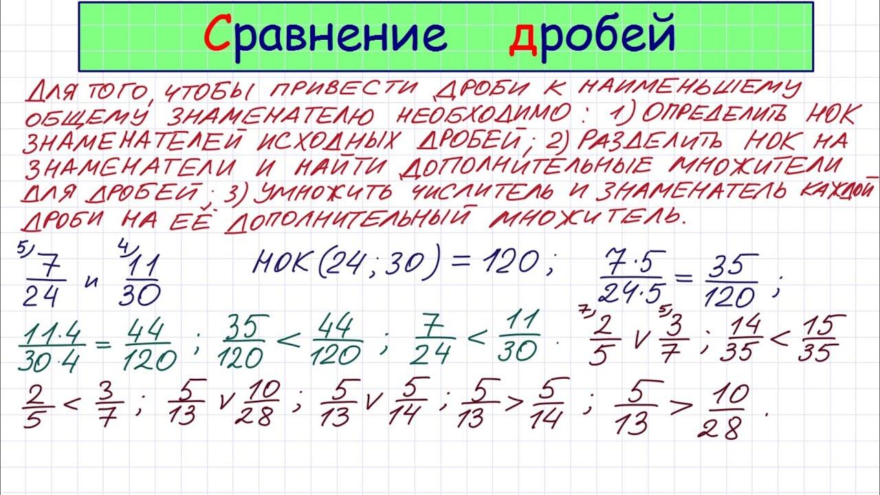 Задачи на сравнение дробей решение задачи по ахд с решениями