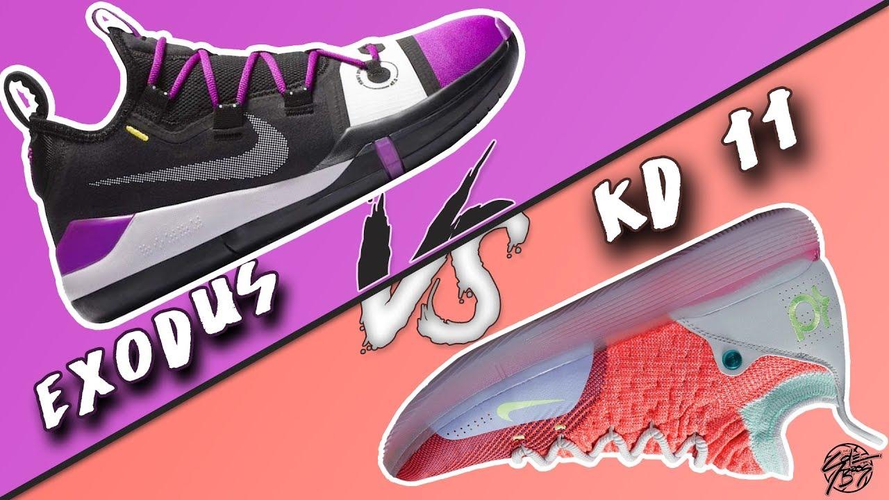 Nike Kobe AD Exodus vs KD 11! - YouTube 7dbc05cddc09